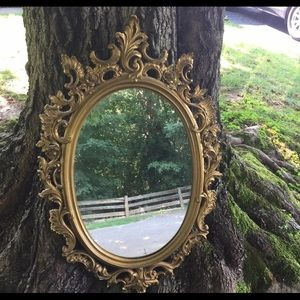 Vintage Hollywood Regency Style Mirror Dart